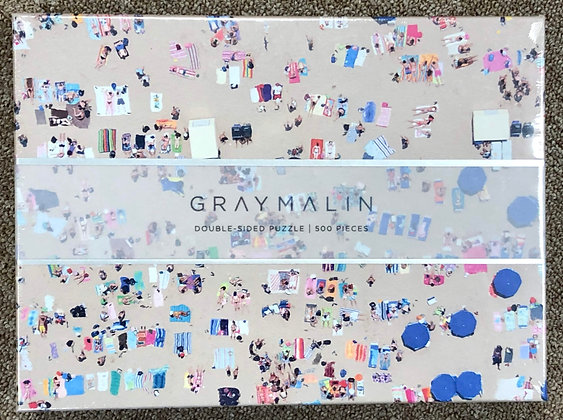Gray Malin The Beach - Double-Sided  Puzzle (500 pieces)