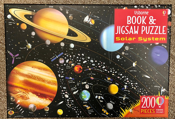 Solar System - Book & Jigsaw Puzzle (200 pieces)