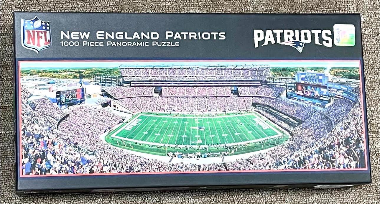 New England Patriots Panorama