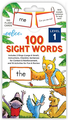 100 Sight Words - Level 1