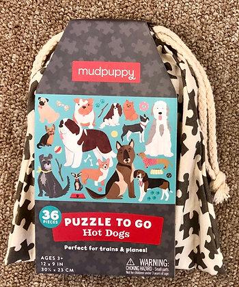 mudpuppy Puzzle To Go - 36 Pieces
