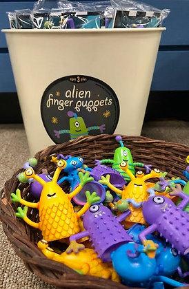 Funny Alien Finger Puppets
