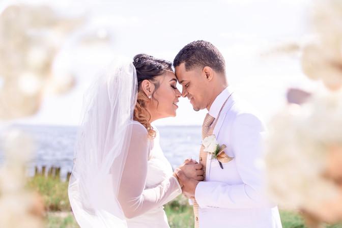 outdoor summer wedding & gender reveal | Warwick RI