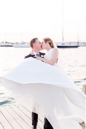 Bohlin Newport Fall Wedding seaside wedd