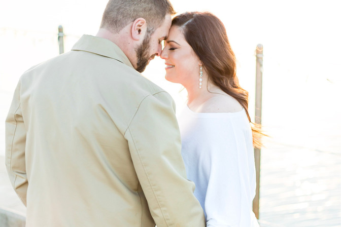 oceanfront engagement session | bohlin, Newport