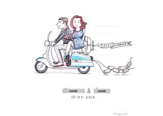 Lambretta Mod Wedding