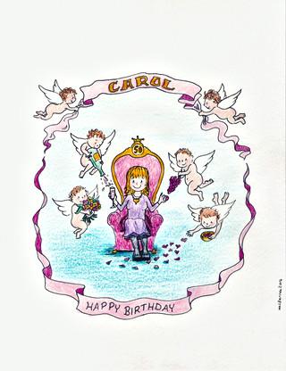 Cherub Birthday
