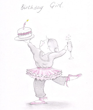 Dancing Birthday Grandma