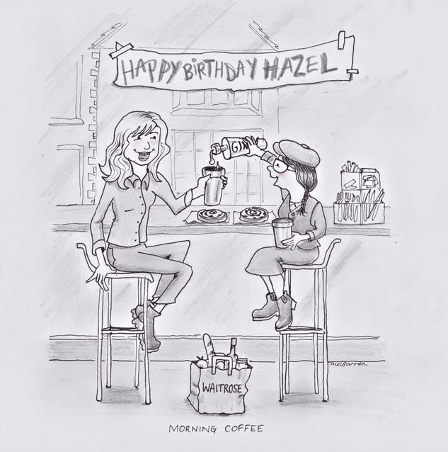 Morning Birthday Coffee & Gin