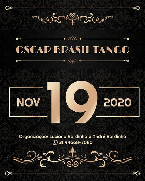 OSCAR TANGO BRASIL 2020
