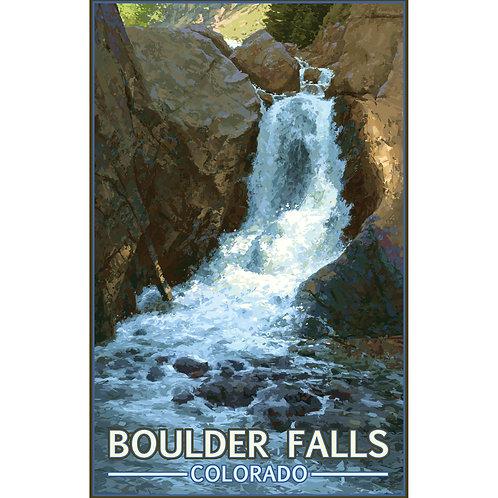Boulder Falls 2 - 11x17