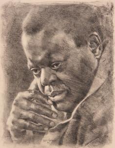 Black Man pencil