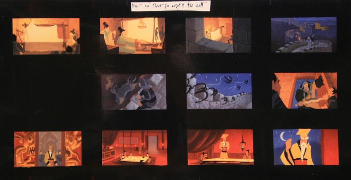Mulan thumbnail board - Acrylic