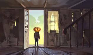 Jack Pumpkinhead Sketch