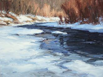 Bear Creek Blue 18x24