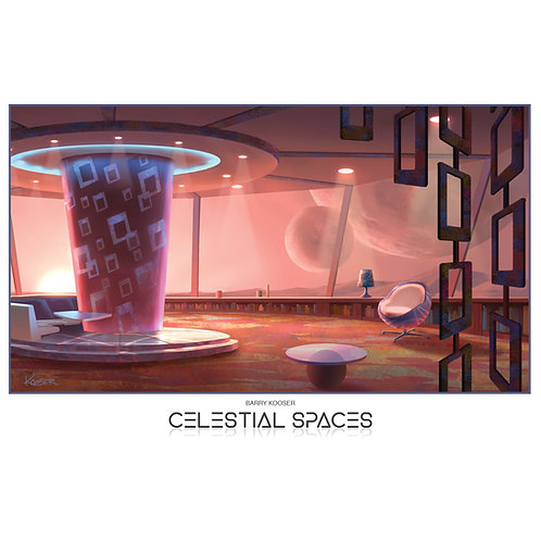 2 Moons Residence Interior - 11x17