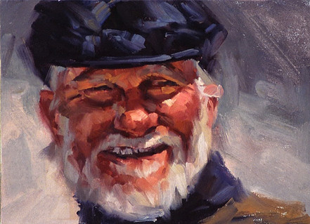 Old Bearded One 9x12
