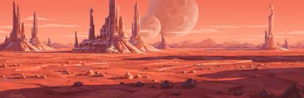 Celestial Spaces 001