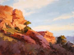 Red Rocks Study 5.1 9x12