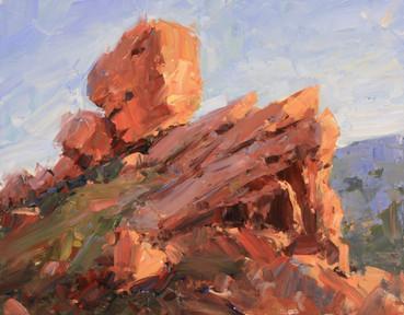 Red Rocks Study 1 11x14