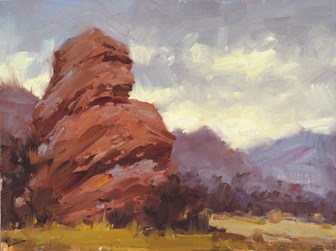 South Valley Study 9x12