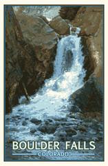 1. Boulder Falls