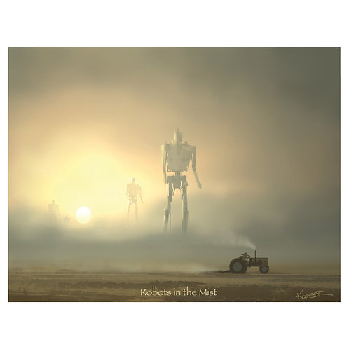 Robots in the Mist - 8.5x11