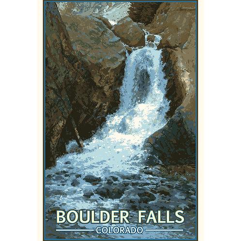 Boulder Falls 1 - 11x17