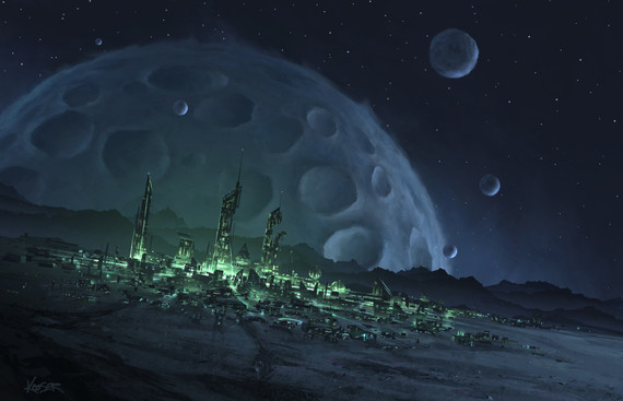 Celestial Spaces 003