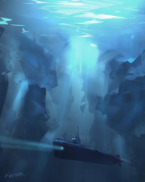 Arctic Sub 2 Sketch
