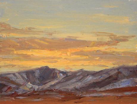 Sunset Study 1 8x10