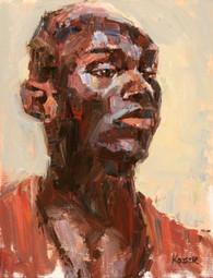 African Man 14x11