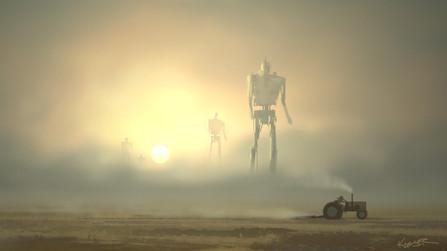 Robots in the Mist Sketch
