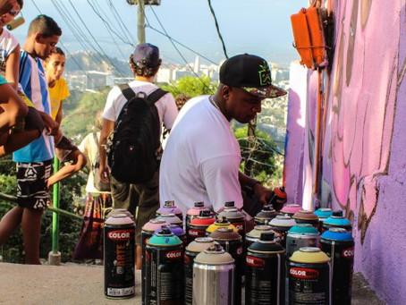 Santa Teresa and Street Art