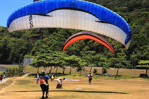 Paraglide flights in RIo