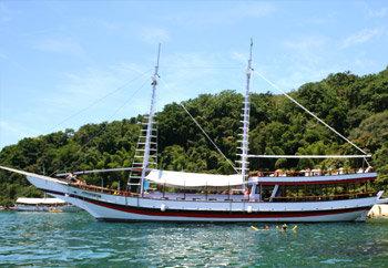 Schooner trip to Cagarras Islands