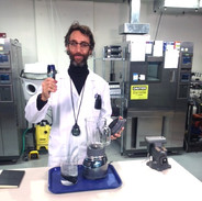 playing a lab geek for Axon commercial