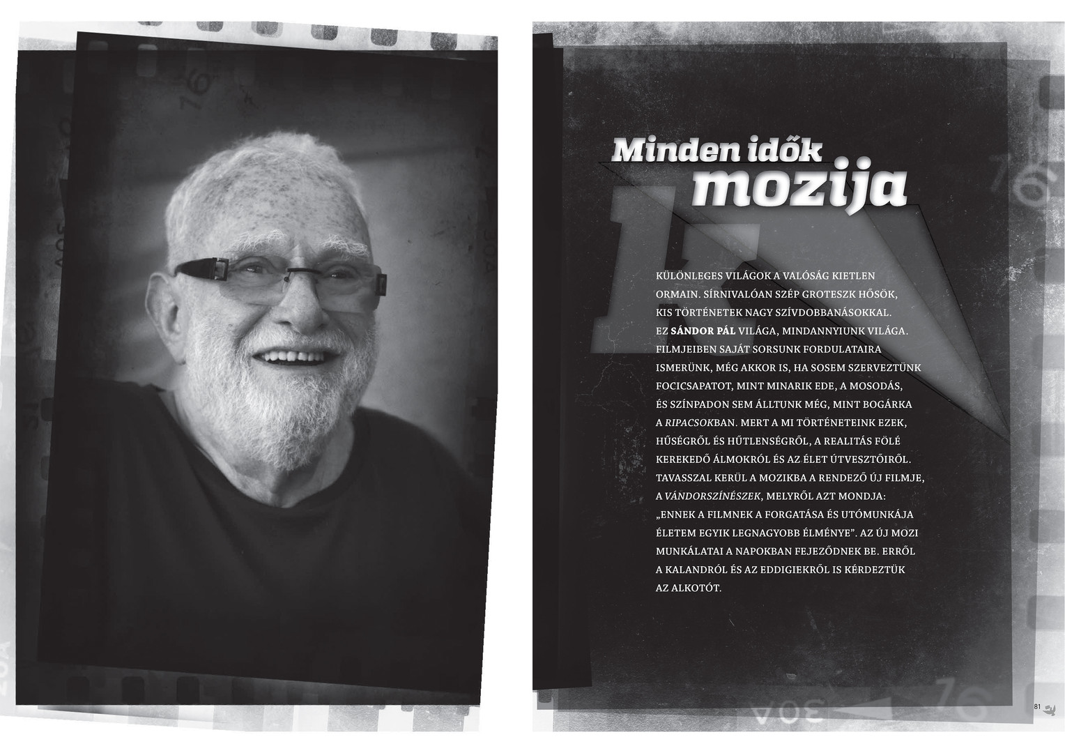 Interview with Pál Sándor