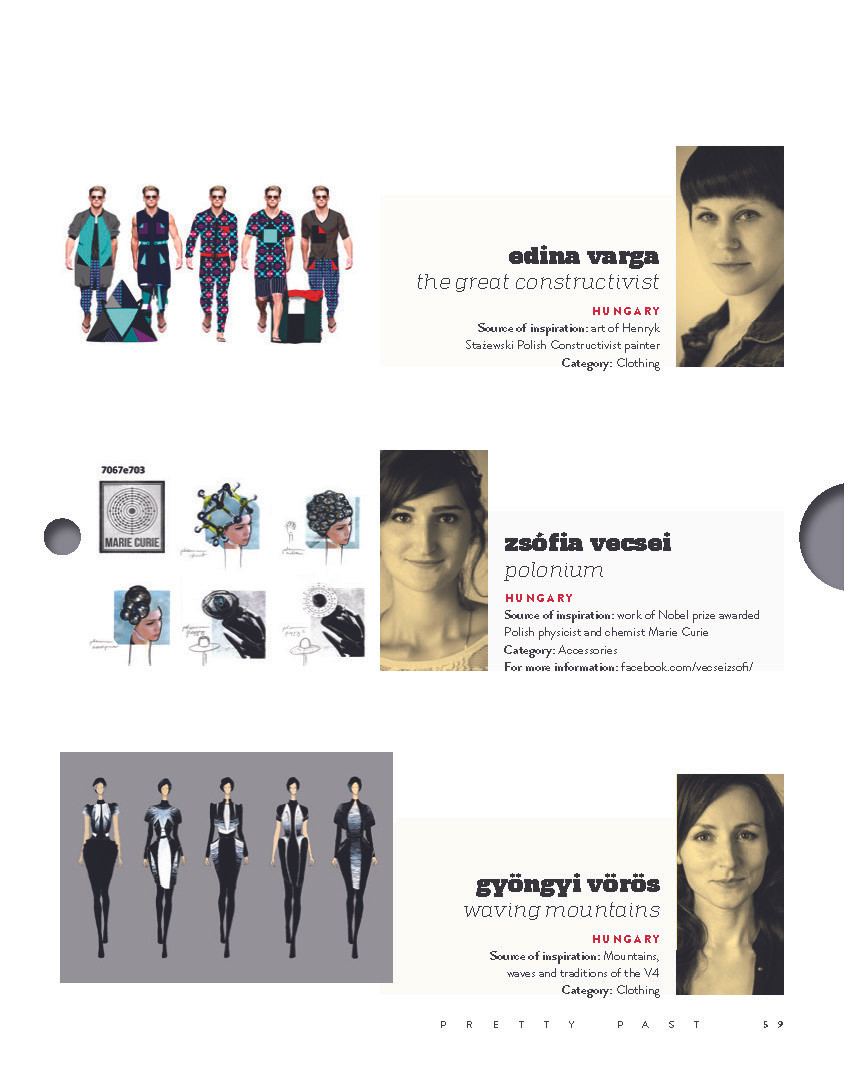 Portraits of designers