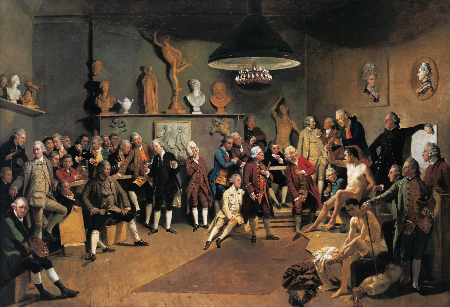 Academicians of the Royal Academy, 1771-72