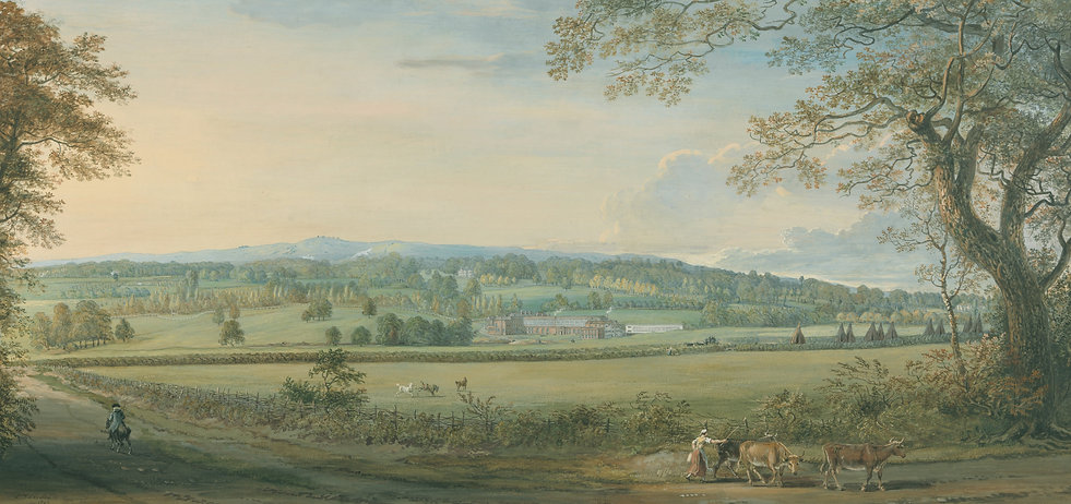 ners at Boxley, Kent, by Paul Sandby
