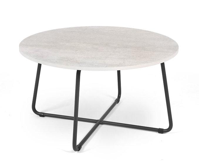 Drop side table rotondo