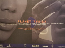 Planet Africa 1995 Poster First Edition