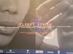 Planet Africa 1995 Poster