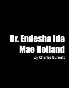 Dr Endesha Ida Mae Holland