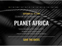 Planet Africa Legacy Website