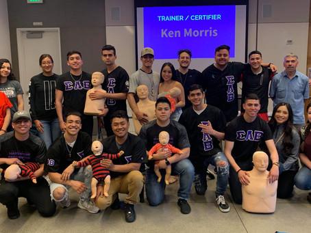 Grant Recipient: Phi Beta - Victor Correa CPR Awareness