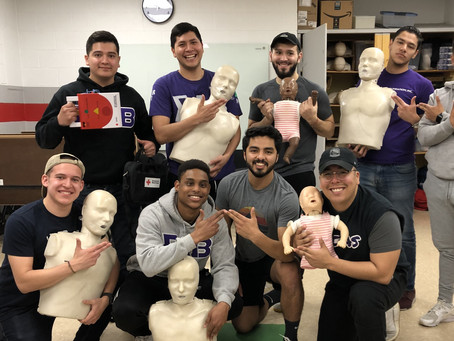 Grant Recipient: Delta Delta – CPR Awareness
