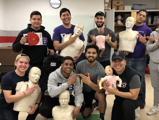 Grant Recipient: Delta Delta – CPR Awareness