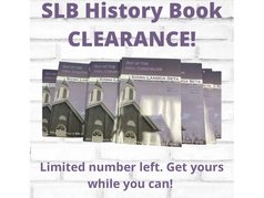 SLB History Book Clearance